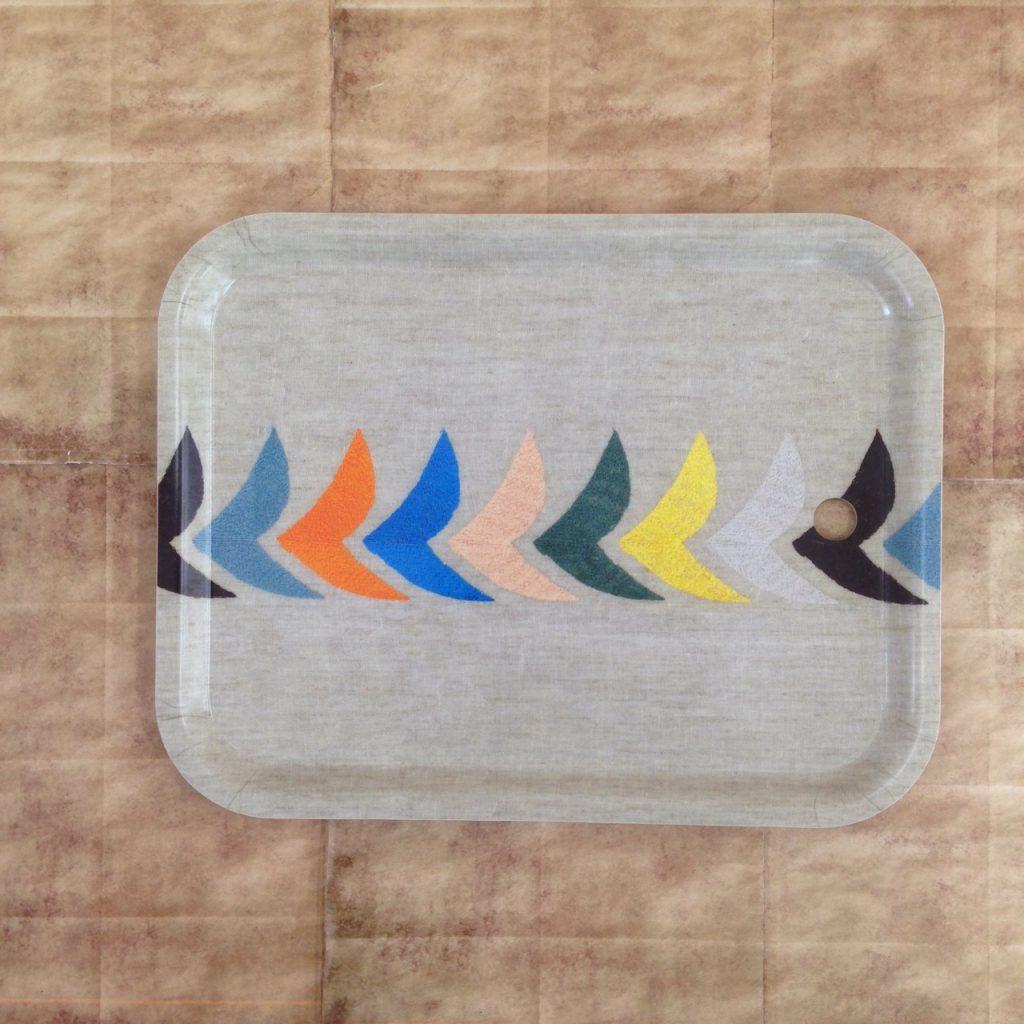 ミナペルホネンのbirdの白樺トレイ