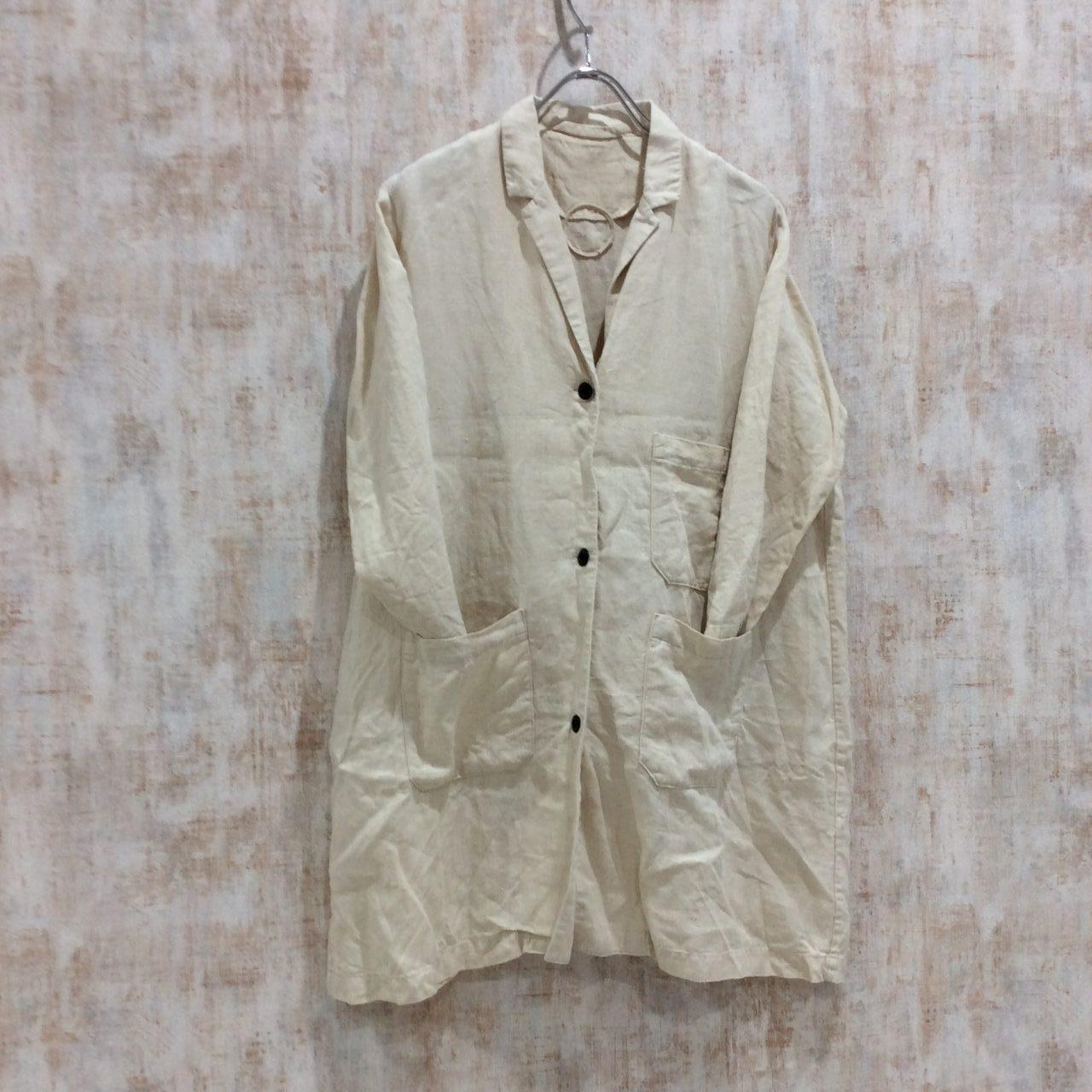 ランフランセダンタンのヘンプ素材のコート