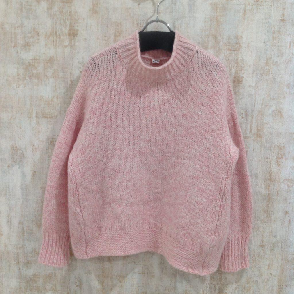 45RPM ツイードガンジーセーター
