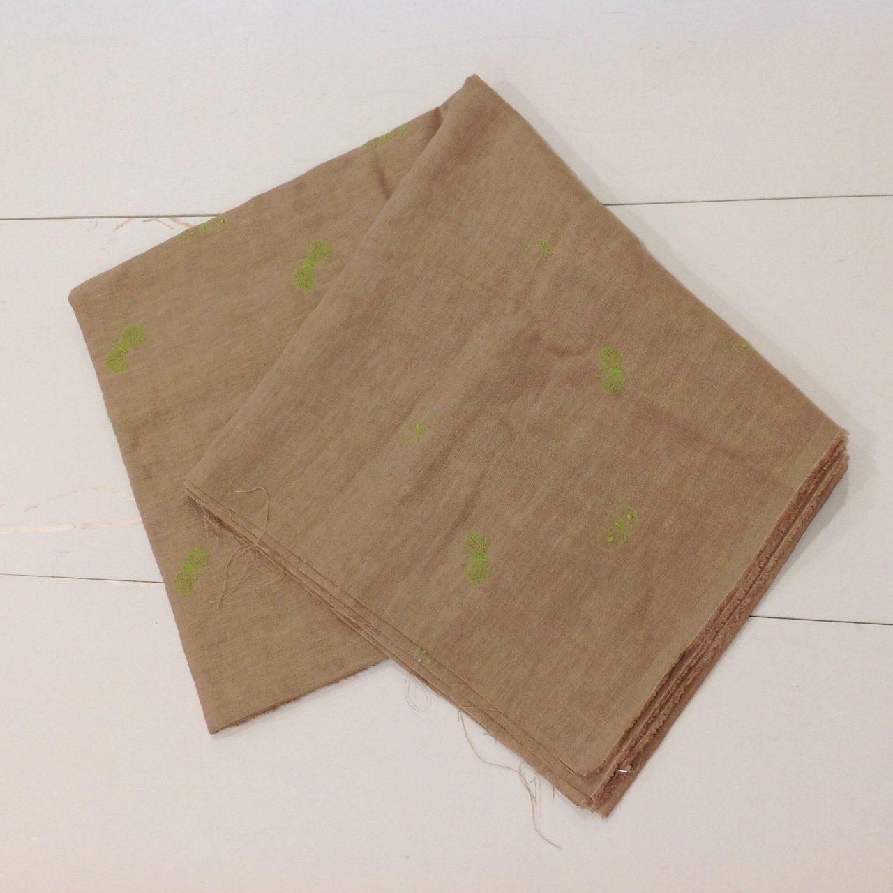 大人気ミナペルホネンのchoucho柄の布地
