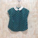 R&D.M.Co- オールドマンズテーラー ラウンドカラーノースリーブシャツ / 買取6000円