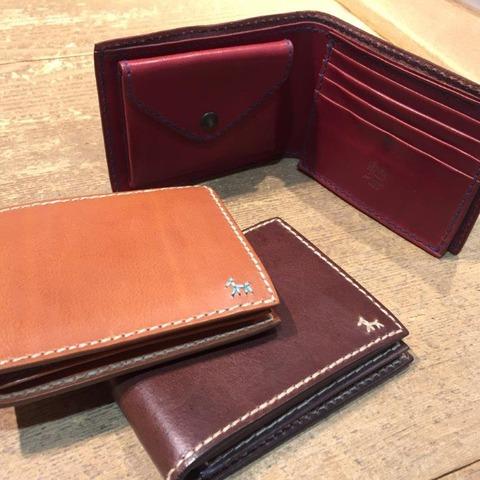 色合いが綺麗なアンリークイールの財布