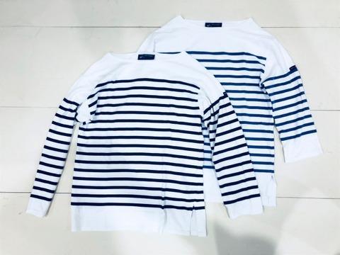セントジェームスの長袖シャツの定番アイテム「NAVAL」