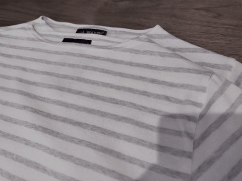 セントジェームスのシャツの袖部分