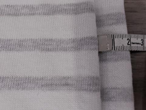 セントジェームスのシャツの身幅の縮み具合