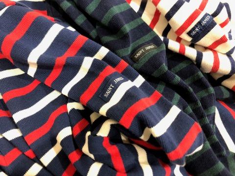 セントジェームスのカラーバリエーションが豊富なシャツ類