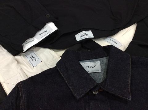 YAECAのシャツやその他のアイテム