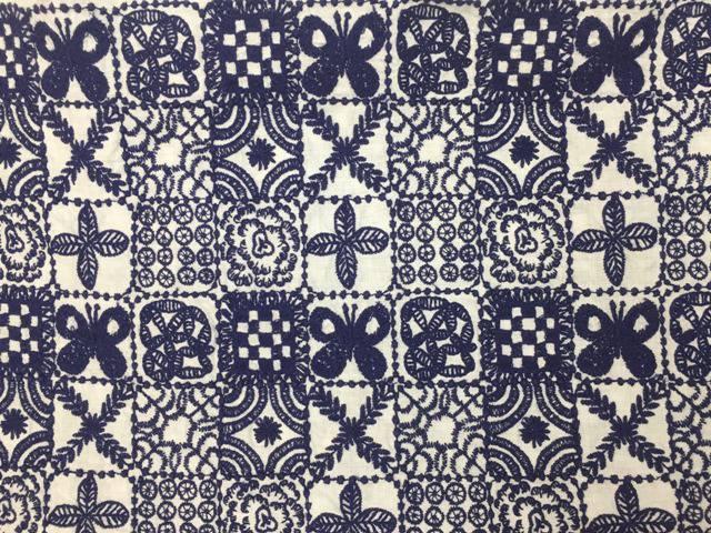 ミナペルホネンのforest tileのテキスタイル