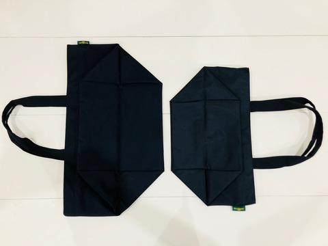 エルベシャプリエのバッグの大きさを比較した画像