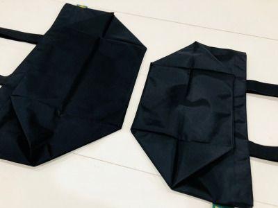 エルベシャプリエのバッグの平置き画像