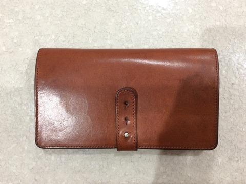 アーツアンドサイエンスの財布 使用後