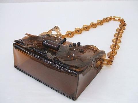 マメクロゴウチのビニールバッグ