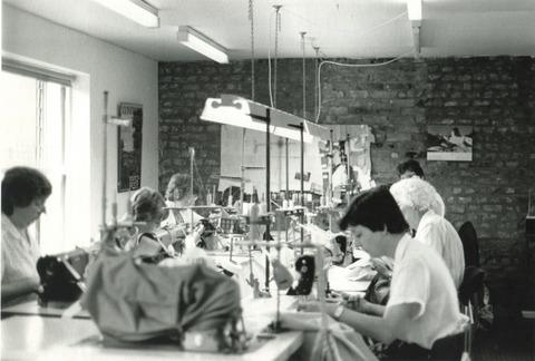 マーガレットハウエルのブランド設立当初のアトリエ