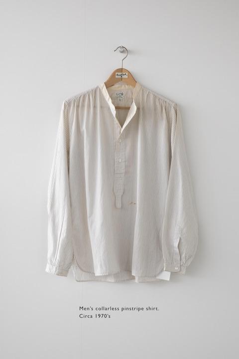 MARGARET HOWELLの50年前のシャツ